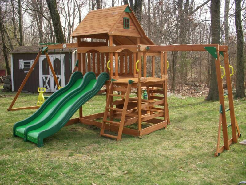 hereu0027s just one more reason why we are new 1 swing set assembly company just enjoy a few pictures of our work done throughout the - Cedar Swing Sets