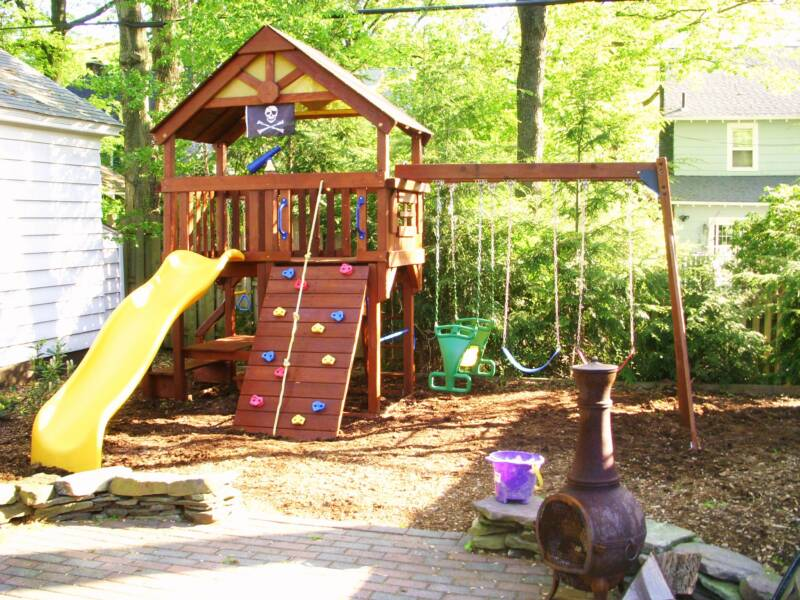 Amazing Playground Sets For Backyards Costco Part - 3: Swing Set Installer NJ -Cedar Summit Canyon Ridge Playset From Costco  Installer- Gorilla Playsets Assembly And Installation.
