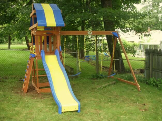 Swing Set Installation Nj Playset Installer Cedar Summit Premium