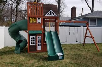 Swing Set Installer Nj Kidkraft Cedar Summit Copper Ridge Playset