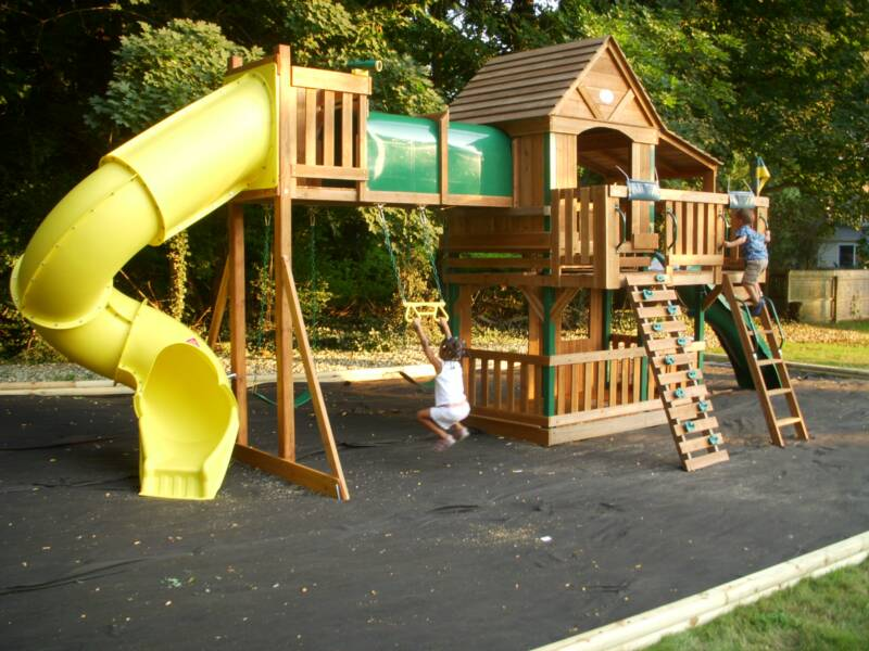Cedar Playsets With Tube Slide Www Picsbud Com
